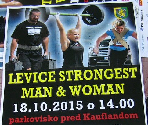 Levice Strongest Man & Woman 2015